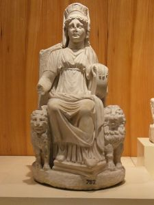 Cybele statue, from Nicaea in Bithynia.