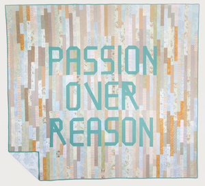 Image Credit: Mark Clintberg. Passion Over Reason / La passion avant la raison (2014). Fabric, thread.