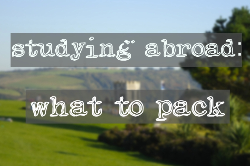 study abroad what to pack icon