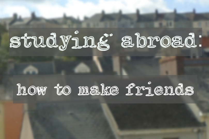 study abroad making friends icon