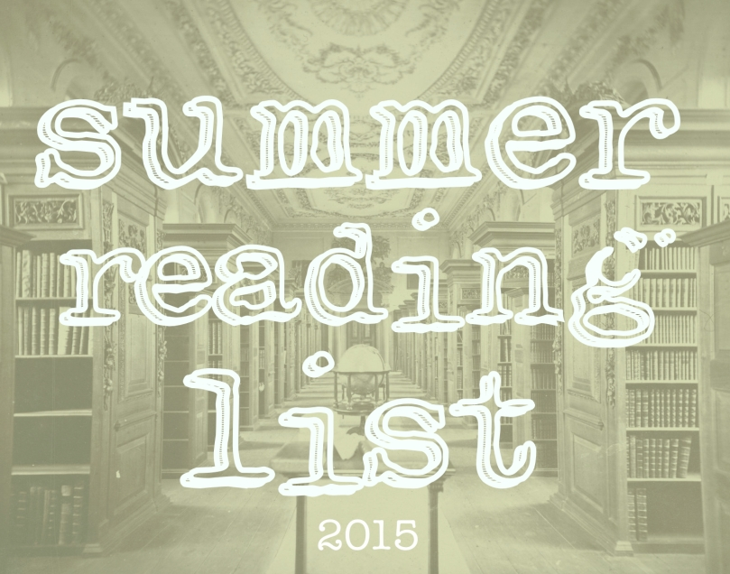 summer reading list header